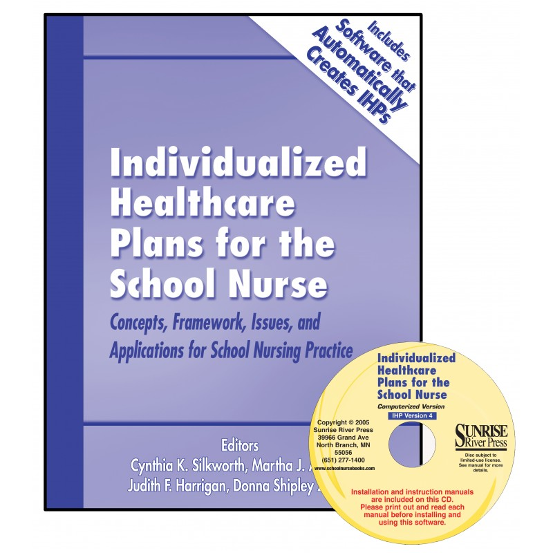 Book and Software for Individualized Healthcare Plans for School Nurses